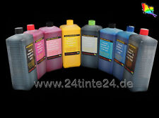 8 x 0,5 litros de tinta Ink pigmento HP DesignJet z2100 hp70 70 cb339a cb340a cb342a