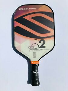 Selkirk Sport Pickleball Paddle S2 AMPED Midweight Orange New