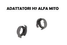 COPPIA ADATTATORI ALFA ROMEO MITO FORD KUGA MEGANE XENON LED PORTA LAMPADA H7