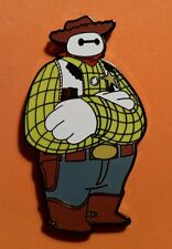 Fantasy Pin - BayMax as Woody LE100 Jumbo Pin - Disney Toy Story