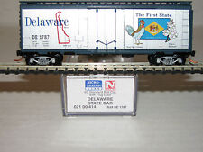 "Micro-Trains ""N"" scale #02100414 Delaware State Car"