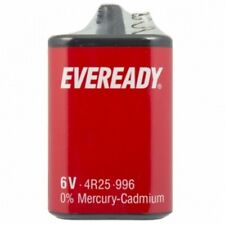 3 X EVEREADY 4R25 6V Batteries 6 Volt 996 PJ996 908 908S Lantern 4R25X  4R25RZ/B