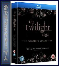 THE TWILIGHT SAGA - THE COMPLETE COLLECTION *BRAND NEW BLURAY BOXSET****