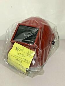Jackson HML100-A 0744-9491 Red Welding Shadow Helmet