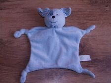 ELC Blue Patch Puppy Dog Comforter Blanket Blankie '06 Early learning Centre GC