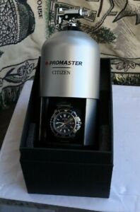 Men's Citizen Eco-Drive Watch Wristwatch Diver's Promaster E168-S111510 & Box NR