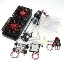 DIY 240 Water Cooling Kit With CPU GPU Radiato Pump Tank For PC Water Cooling