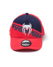 OFFICIAL MARVEL COMICS - PLAYSTATION 4 GAME LOGO RED BASEBALL SNAPBACK CAP (NEW)