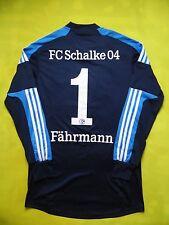 5+/5 FC Schalke 04 Goalkeeper football shirt FORMOTION PLAYER ISSUE #1 FAHRMANN