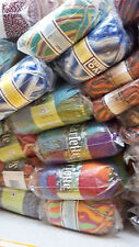 JOB LOT WOOL new ASSORTED COLOURS hand knitting wool YARN MEGGA DEAL500 BALL 007