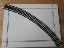 Hornby 00 Gauge Nickel Silver Track - Double Curve 2nd Radius (R607)