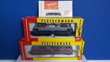 2x Lot Fleischmann Train No. 1384 & 4335 Diesellok & Elektrolok ( ORIGINAL BOX )