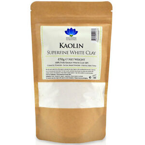 Kaolin White Clay Powder Pure & Superfine Face Mask - 450 grams