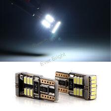 10Pcs White Canbus Error Free T10 194 168 W5W 3014 LED 18SMD Led Wedge light 12V