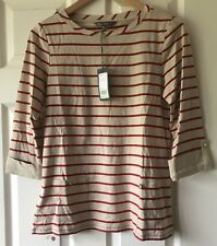 Laura Ashley Striped Top Size 10