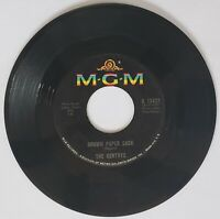 """THE GENTRYS 1966 Spread It On Thick / Brown Paper Sack 7"""" Vinyl 45 MGM K 13432"""