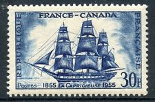 TIMBRE FRANCE NEUF N° 1035 * FRANCE CANADA / BATEAU VOILIER / neuf charnière