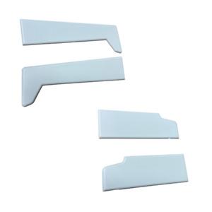 Liniar Profile End Caps White, 85 & 150mm
