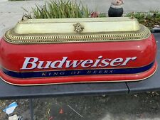 Vintage 4' Budweiser King of Beers Hanging Pool Table Light Local Pickup Only