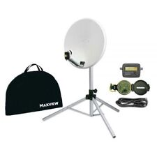 Maxview Portable Sat-Kit Light 54cm Spiegel mit Stativ Satelliten Anlage
