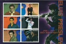 Gambia 2007 - Elvis 30th Anniversary Mint Lightly Hinged RARE  (N36)