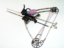 50 lbs Ambidextrous  Vertical Crossbow /Delta bow & Fishing Package