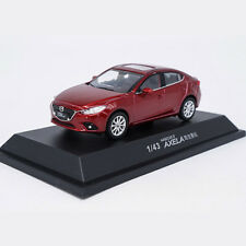 Original 1/43 Changan Mazda 3 Angkorra AXELA red alloy car model