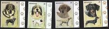 Romania 2012 Dog Breeds - Complete set of 4 stamps MNH