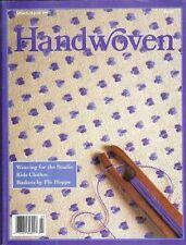 Handwoven magazine mar/apr 1993 - Mock Damask, Poppana