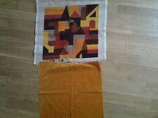 Kissenplatte 70iger Jahre Farben und Muster
