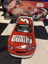 2008 Landon Cassill #5 Dale Earnhardt Jr Autographed National Guard 1/24