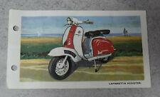 Spot-On 229 Lambretta Scooter Data Sheet / Leaflet RARE
