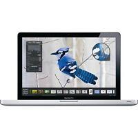 Apple MacBook Pro 15 Intel i7 Quad Core 4GB Ram 500GB HDD Radeon Aiport Mac OSX