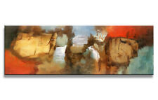 Images sur toile sur cadre 120 x 40 cm abstrait pret a accrocher 5726