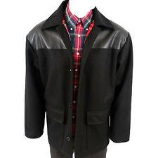Warrior Inglaterra Donkey Jacket abrigo Tartan + PVC chaqueta skinhead punk mod Small
