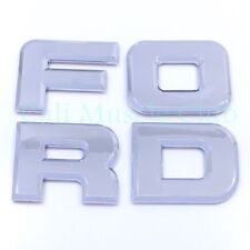 92 93 94 95 96 Ford F-150 F-250 F-350 Tail gate Emblems Nameplate Badge Letters