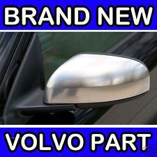 Volvo S60, S80, V70 (04-06) (Matt Chrome) Left Door Mirror Back Cover / Casing