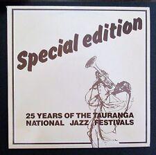 TAURANGA JAZZ FESTIVAL - 25 YEARS SPECIAL EDITION - 1988 KIWI JAZZ DOUBLE LP SET