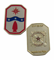 US Army National Guard 371st Sustainment Brigade OIF Challenge Coin