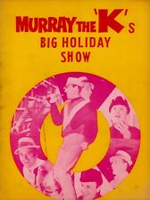 TEMPTATIONS / FOUR TOPS 1965 MURRAY THE K'S BIG HOLIDAY SHOW PROGRAM / EX 2 NMT
