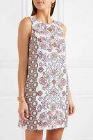Tory Burch Dress M Linen 2018 Hicks Garden Party Beach 6 8 Cover Up RARE NWT