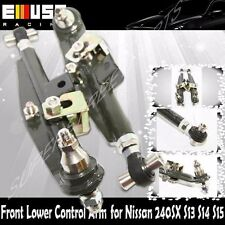 For Nissan 240SX 95-98 S14 89-94 S13 Front Adj. Lower Control Arm Deep Green