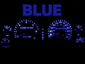 Gauge Cluster LED Dashboard Bulbs Blue For 1994 1997 Dodge Ram 1500 2500 Truck