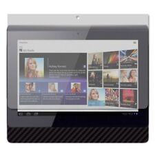 Skinomi Carbon Fiber Black Tablet Skin+Screen Protector Cover for Sony Tablet S