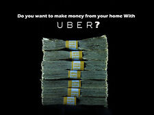 Make money! Earn $ 5,000 Monthly with Uber from your home without driving.