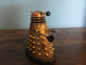 Doctor Who Dalek figure with handprint