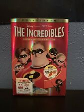 The Incredibles Dvd 2-Disc Set Brand New Factory Sealed
