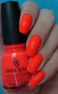 China Glaze  POOL PARTY Neon Nail Varnish! **PERFECT FOR CHRISTMAS**