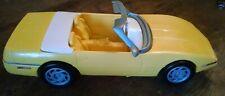 Vintage Rare Barbie Corvette Yellow 1994 - Mattel