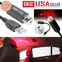 USB Car Roof Interior Atmosphere Starry Sky Lamp Star Light LED Projector Light
